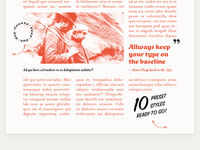 Baseline Boilerplate A4 a4 template indesign grid baseline