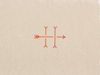 Hobo Arrow Monogram