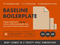 Baseline Boilerplate 2nd Edition