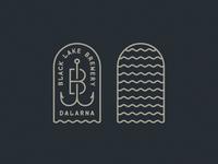 Black Lake Brewery Logo Dribbble