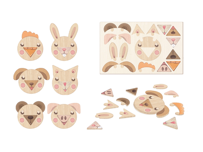 Product Design - Wooden Toy designs design vector kids illustration illustration animals kids art kids natural products eco friendly wooden toy design toys toy product design product