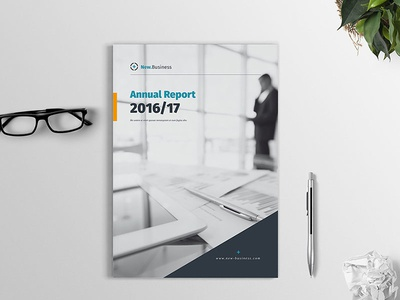 Annual Report 2017 annual report us letter template report market trends informal infographic indesign history financial din a4