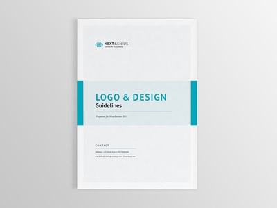 Brand Guidelines - 32 pages