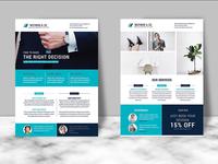 Portfolio & Corporate Flyer