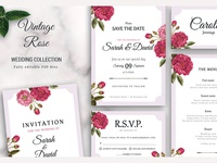 Wedding Collection Vintage Rose