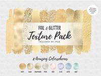 Foil & Glitter Texture Pack
