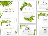 Green Leaves - Wedding Collection