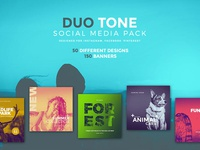 Duo Tone Social Media Pack