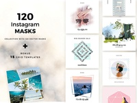 120 Instagram Masks