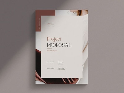 Lighthouse - Project Proposal business brochure print indesign proposal template business proposal project proposal proposal