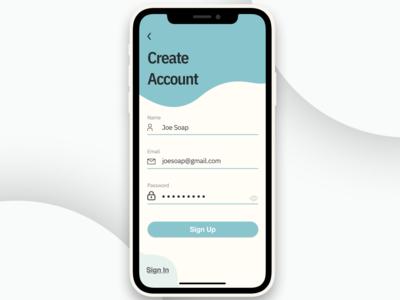 Sign Up Screen Design web typography signup screen minimal design app 10ddc website ux ui