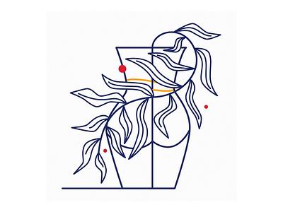 Still life modernart contemporaryart geometric linework ui flatdesign poster art branding logo artwork graphic design vector illustration lineart