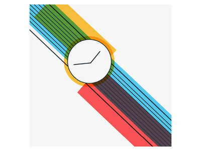 Watch it! Souvenirs from Earth logo time watch souvenirs artwork art editorial flat design art direction project poster design ui drawing vector graphic design illustration