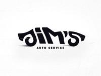 Jim's Auto Service Logo