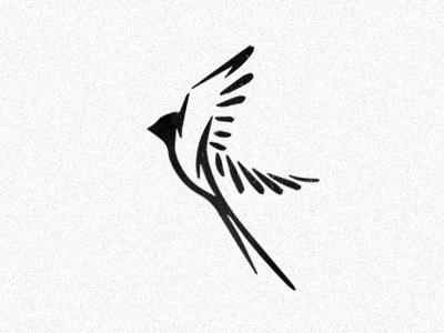 Volatus negativespace creative logo logo design boston лого логотип wings evolvered illustration flying latin flight bird