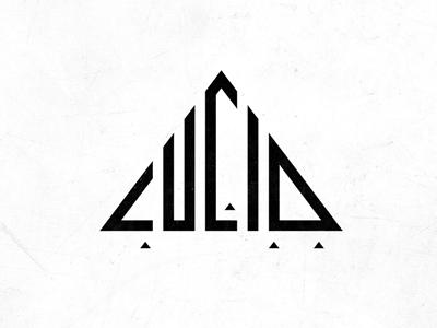 LucidSGR Logo Design logo design type typeonly streetwear clothing logodesign illuminati triangle pyramid lucid evolvered
