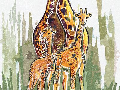 Giraffes Fam