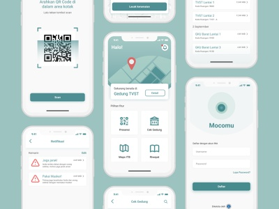 COVID 19 Mobile App location homepage login 2020 maps corona virus mobile app design design mobile apps ux design ui design ui ux mobile app tracking app notification map covid coronavirus covid19 corona