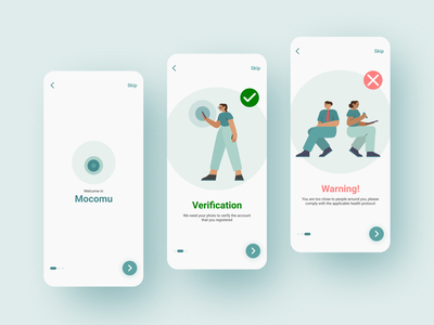 Mobile App Onboarding user interface onboarding screens ios minimal flat splash onboarding illustration interface concept 2020 mobile ux ui design mobile app app