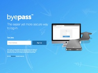 Byepass - Beta Sign Up Page