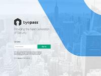 Byepass - Landing Page Update