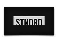 STNDRD Business Cards Back