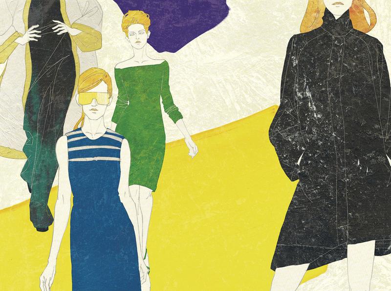121130 illust note fashion fashion illustration japan woman illustration