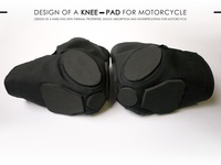 Design of a Knee-Pad for motorcycle