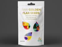 Raw Golden Flax Seeds
