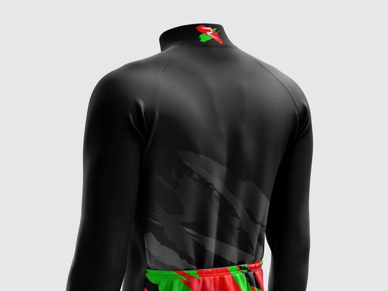 Basque Edition 2020 Back View vector creative ciclismo maillot basque basque country sportswear cycling cycling jersey cycling kit