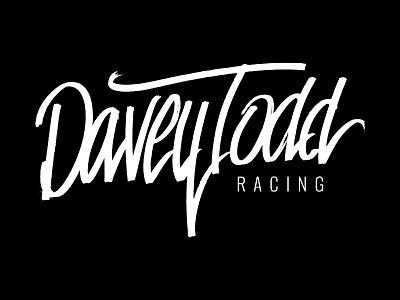 DTR Logotype - Option 2 logo custom type typography design branding lettering