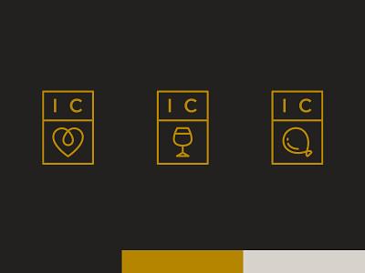 Ivy Coast Sub-brands icons branding logos