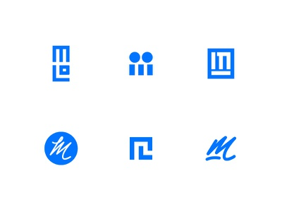 Personal Mark designer icons design logo