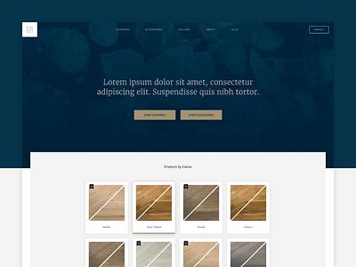 Zenon Redesign design flooring redesign website ux ui web