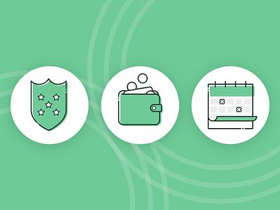 USP Icons web ui illustration design icons