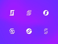 'S' Cryptocurrency Logos