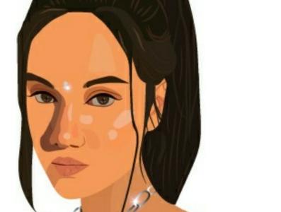 Mrinmoyee Ghose Illustration fashion blogger fashion illustration fashion blogger vector illustration flat digital illustration digitalart adobe illustrator