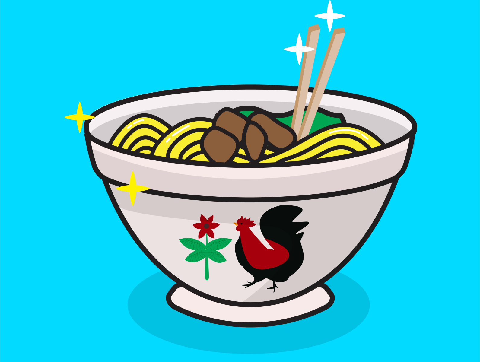 gambar mie ayam by cutecartoon on dribbble gambar mie ayam by cutecartoon on dribbble