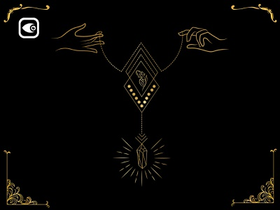 Holding Jewelry vector luxury graphic elements geometry illustration diamonds golden geometry luxury jewelry