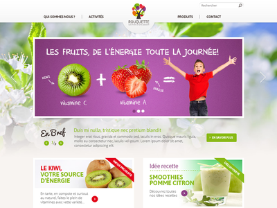 Groupe Rouqette website site internet