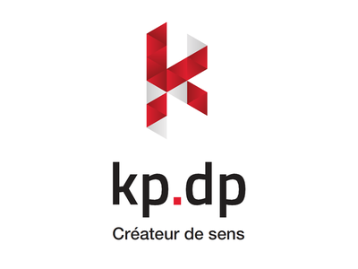 KP-DP identity logotype logo