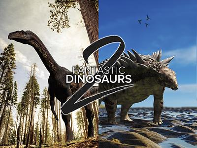 Fantastic Dinosaurs 2 - First screen logo encyclopedia dinosaur