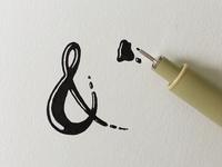 Inky Ampersand
