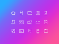 Icons of appliance