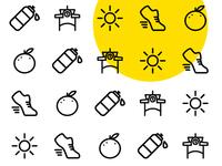 Winter Garden Runners - Icon Pattern Design