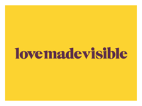 Love Made Visible Logo Design