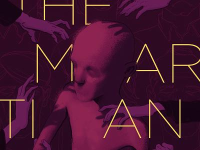 The Martian books book cover photoshop digital illustration