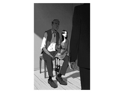 Killer Come Back to Me #1 books illustration