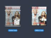 Magazine icons