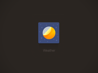 MiCrease-Weather(MIUI Theme Design 2012)